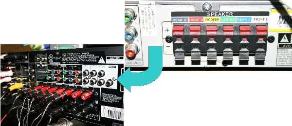 Amp Input Jack Wiring Diagram Rca Plug On Speaker Wire Ecoustics Com