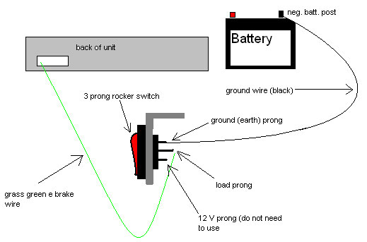 4 prong lighted rocker switch wiring diagram 4 prong relay