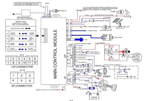 clifford alarm wiring diagram double two way light switch huatai ht-800d car - remote start problem ecoustics.com
