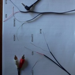 Microphone Wire Diagram 2000 Toyota Corolla Engine Wiring A Pair Of Sony Earplugs/cable To New 3.5mm Jack?? - Ecoustics.com