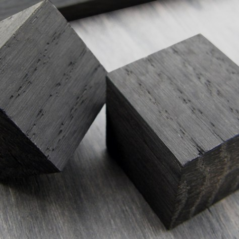 Chêne des marais : cubes
