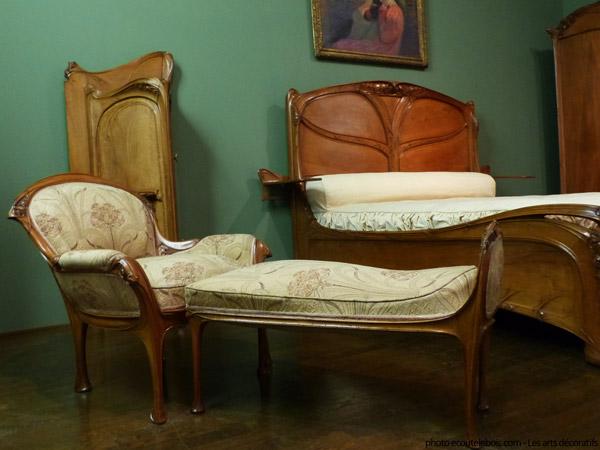 chambre art nouveau guimard 1903 ecoutelebois
