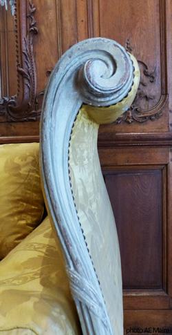 chevet enroulé 1755 Carnavalet