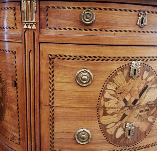 commode louis 16 jacques bircklé 1775 ecoutelebois