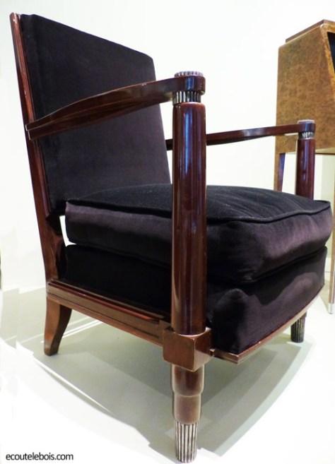 fauteuil ruhlmann 1925 hetre teinte ecoutelebois