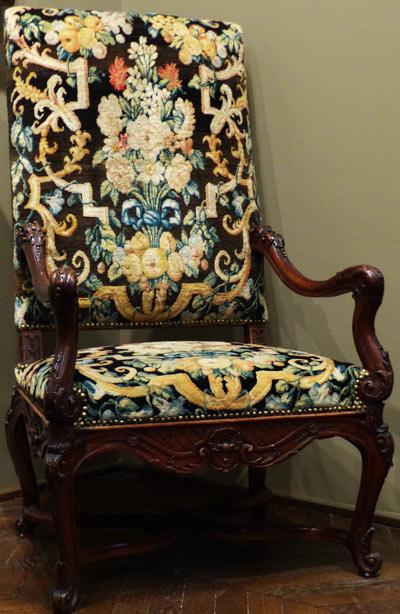 fauteuil style Louis 14 Musée des Arts décoratifs Paris