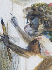 grotesque-singerie-chantilly-détail-1737 ecoutelebois