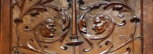 grotesques 16e arts deco détail