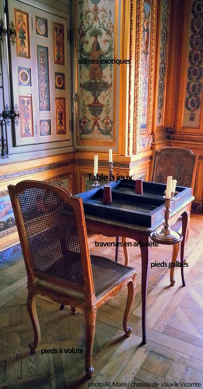 mobilier Louis 15 caracteristiques