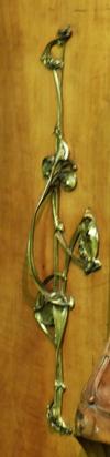 poignée armoire bronze art-nouveau ecoutelebois