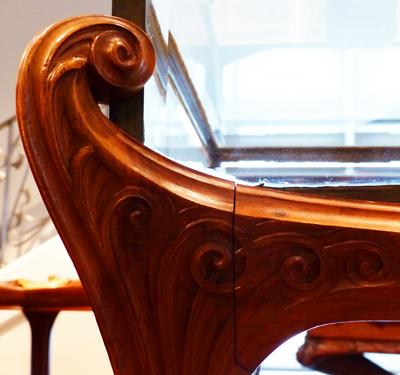 sculpture meuble majorelle les arts decoratifs ecoutelebois