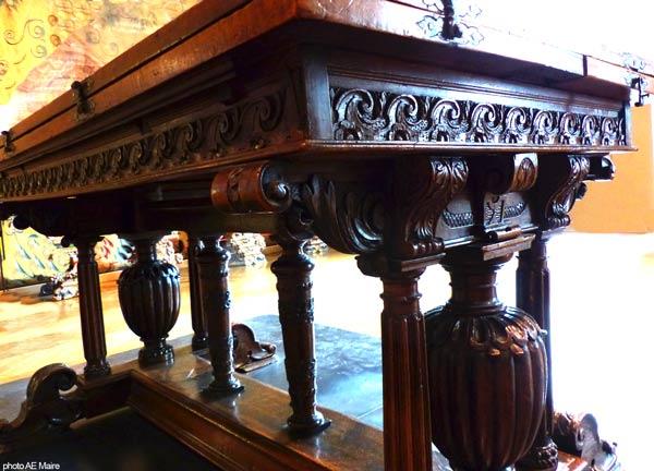table à balustre Renaissance XVIè