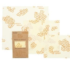 Bee's Wax Wrap set van 3