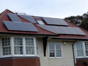 home with solar systems