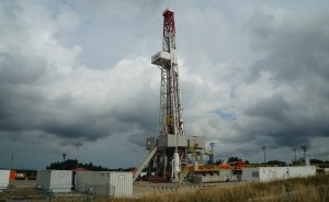 drilling of oil