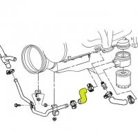 Corvette Hose Heater Oil Cooler To Metal Line With Kc4 Oil