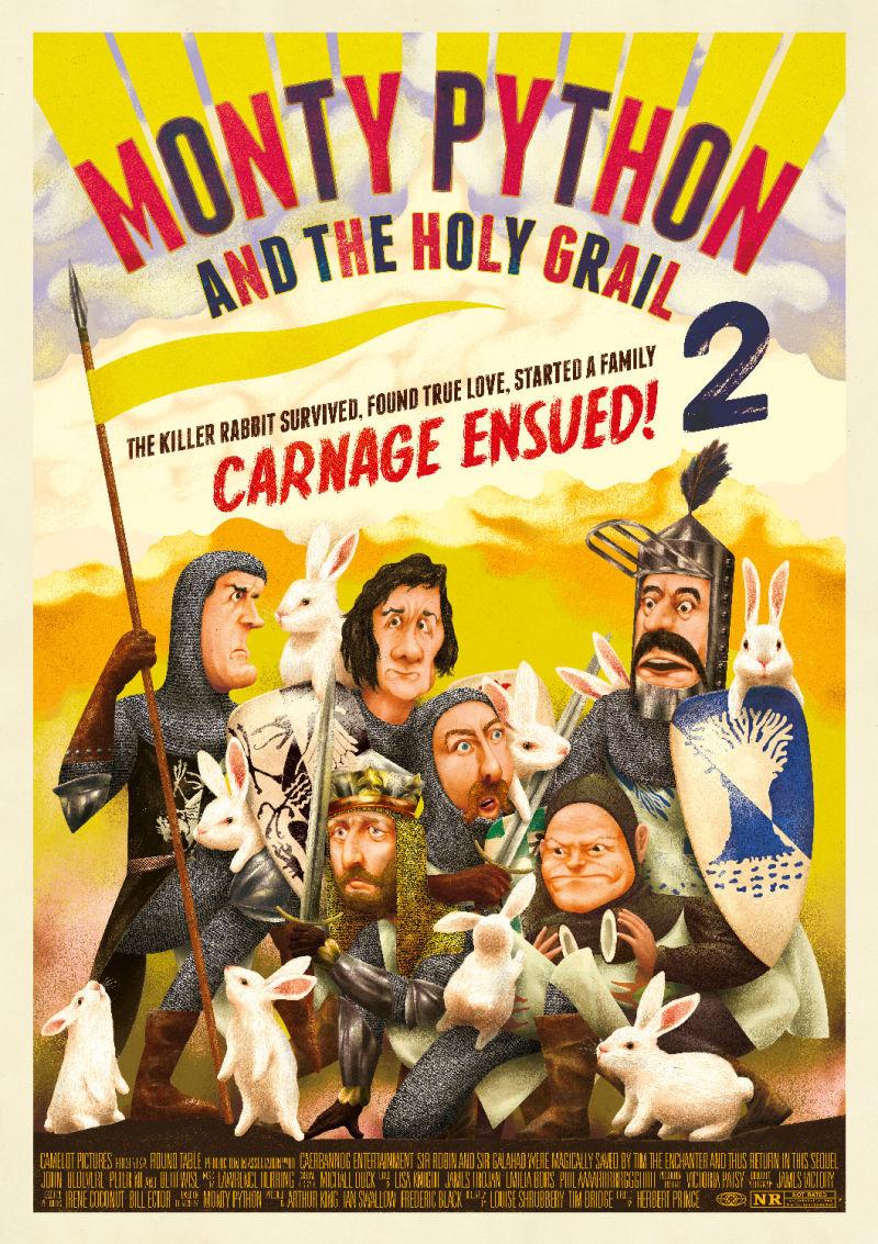 Monty Python Sacré Graal Film 1975 EcranLarge Com