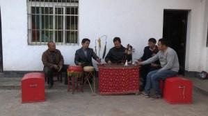 Les musiciens de l'opéra de Pingli