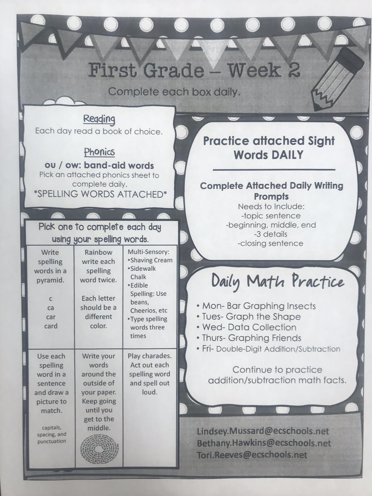 medium resolution of Distance Learning - West Side Elementary School