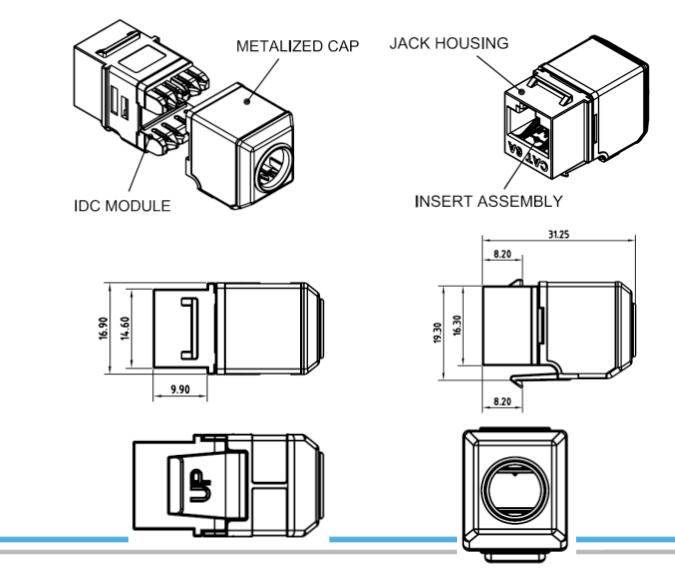 cat 6 jack wiring