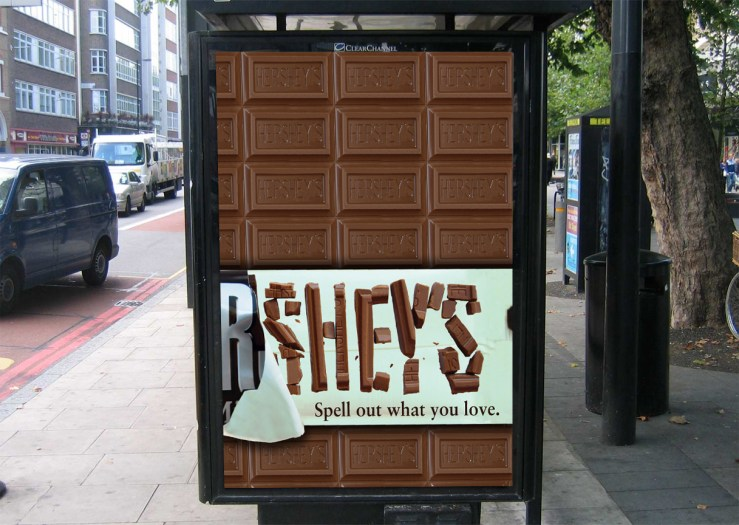 Hershey's Chocolate Poster Advertisement