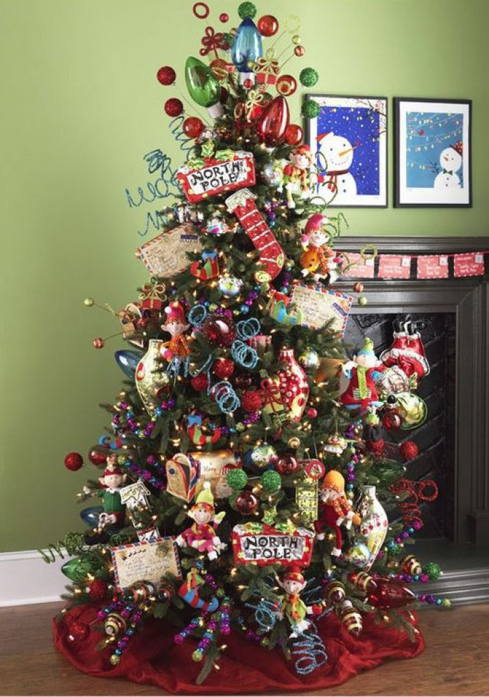 Beautiful Christmas Trees Decoration Ideas, Photos and ...