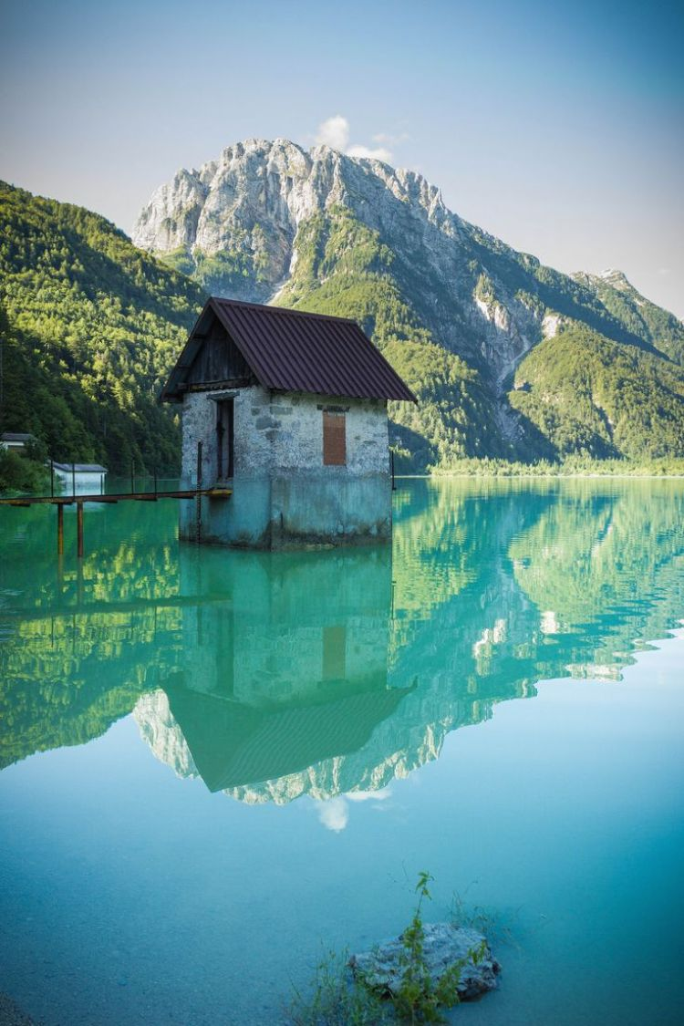 Lago del Predil, Friuli-Venezia Giulia, Italy