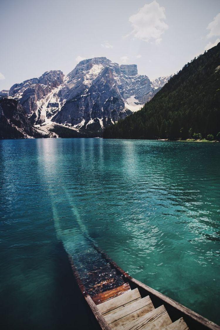 Lake Braies, Dolomiti, Italy