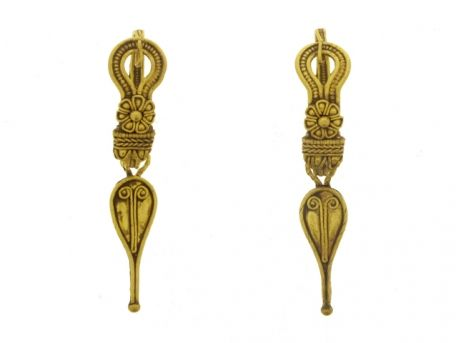 Ancient Roman earrings, 2nd century AD