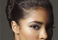 Classy updo hairstyle for African American women