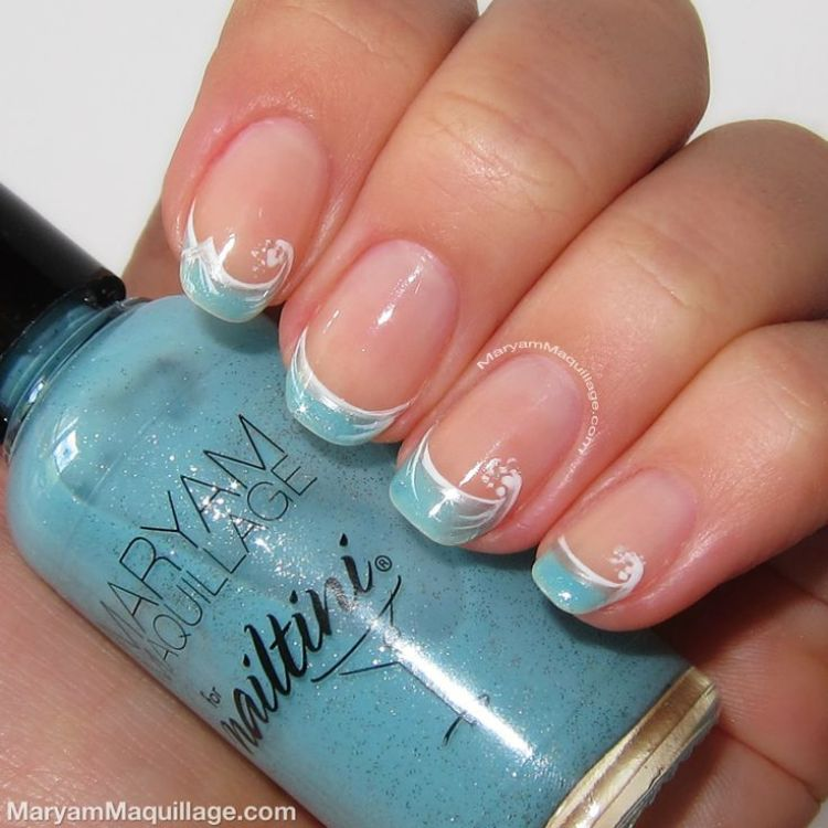 French Design Nail Art Gallery: 30 Beautiful French Manicure Ideas