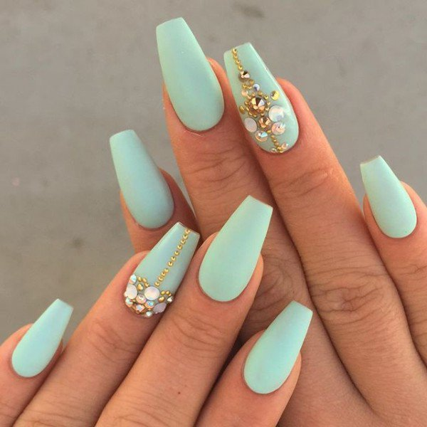... Cute Matte Nail Designs Idea - 12 ... - 74 Cute Looks For Matte Nails You Need To Try Right Now - EcstasyCoffee