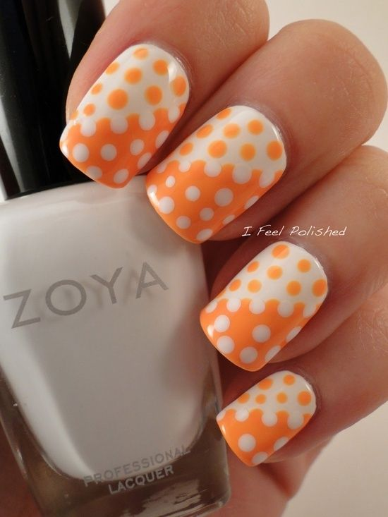 40 Lovely Polka Dots Nail Art Ideas You Need To Know For Summer 187 Ecstasycoffee