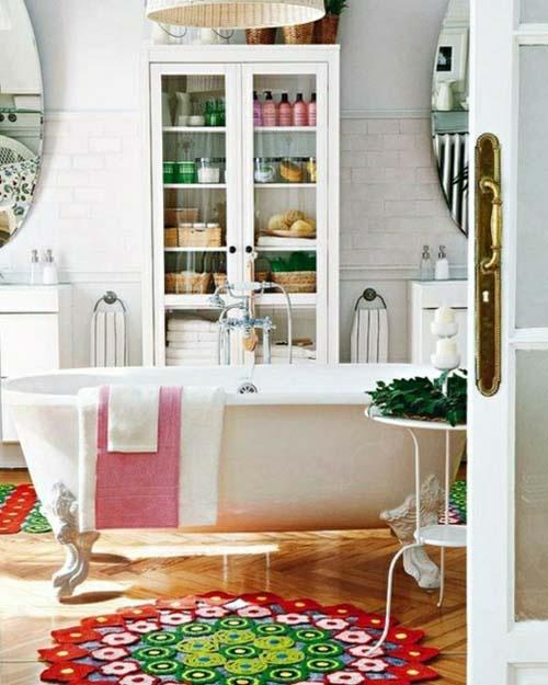 Practical Bathroom Storage Ideas @EcstasyCoffee - 15