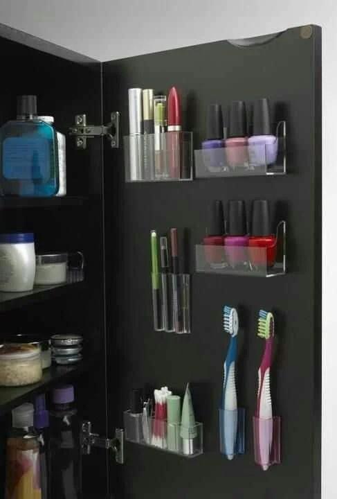 Practical Bathroom Storage Ideas @EcstasyCoffee - 16