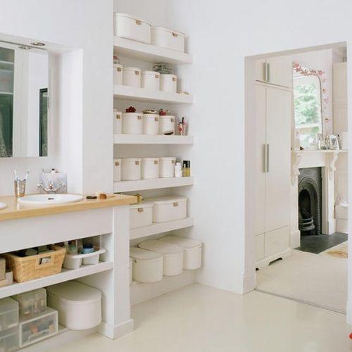 Practical Bathroom Storage Ideas @EcstasyCoffee - 2