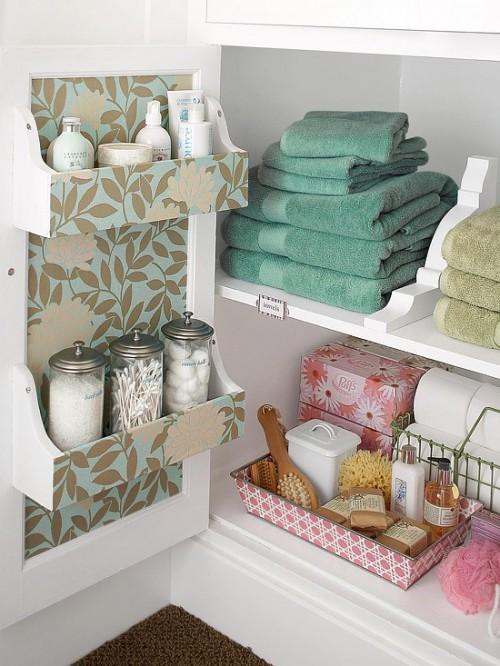 Practical Bathroom Storage Ideas @EcstasyCoffee - 23