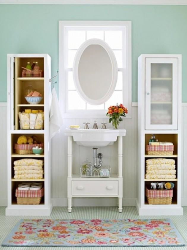 Practical Bathroom Storage Ideas @EcstasyCoffee - 39