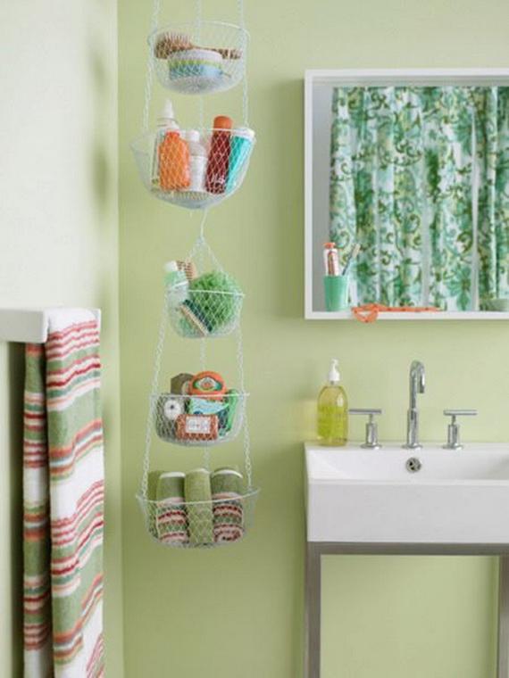 Practical Bathroom Storage Ideas @EcstasyCoffee - 48