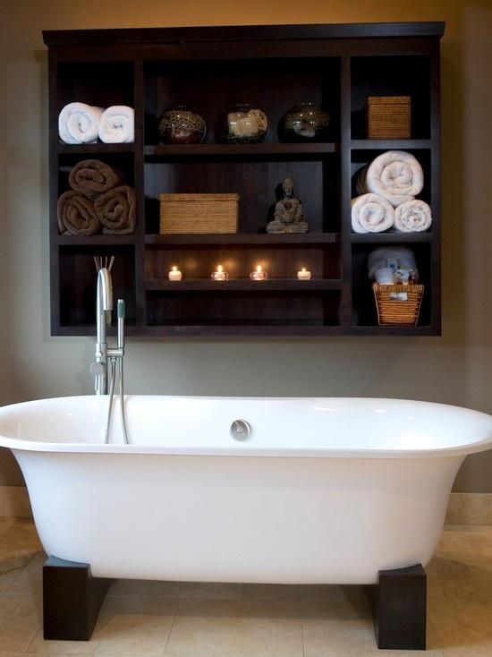 Practical Bathroom Storage Ideas @EcstasyCoffee - 6
