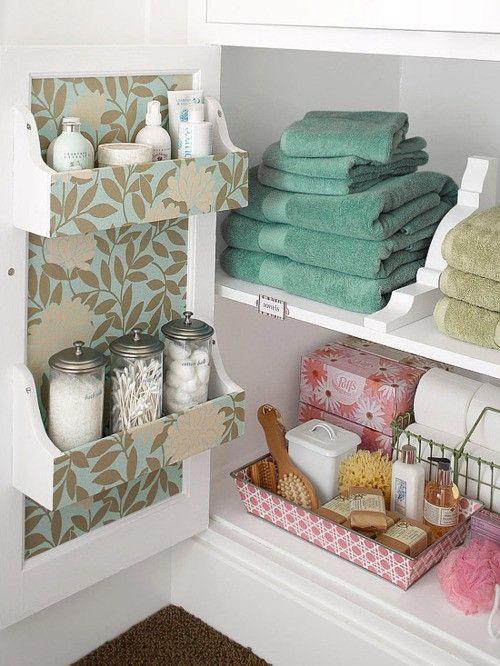 Practical Bathroom Storage Ideas @EcstasyCoffee - 8