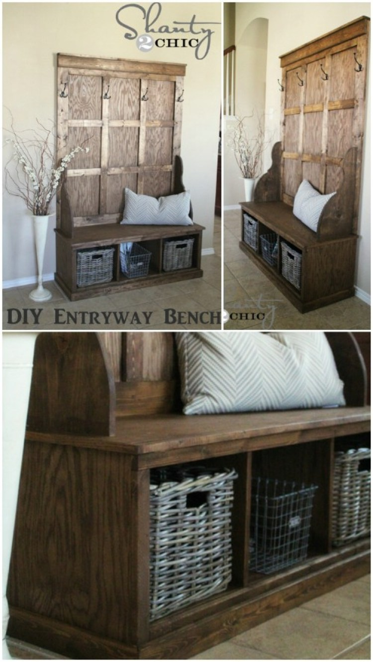 40 Creative Diy Rustic Storage Ideas To Organize Your Home 187 Ecstasycoffee