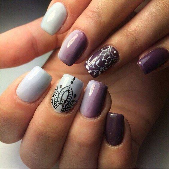 40 Gorgeous Fall Nail Art Ideas To Try This Fall