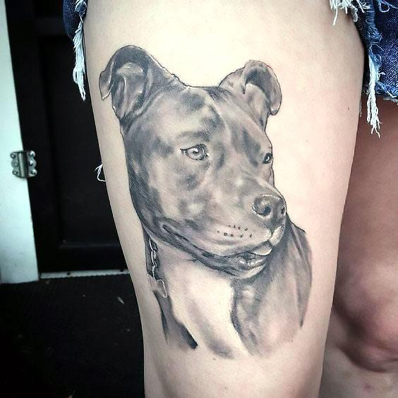 Pet Tattoos Dog Ideas