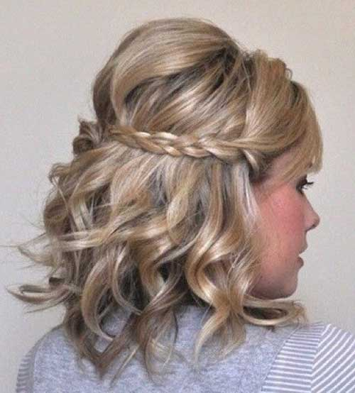 Incredible 40 Incredibly Pretty Short Hairstyles For Curly Hair That Make You Hairstyle Inspiration Daily Dogsangcom