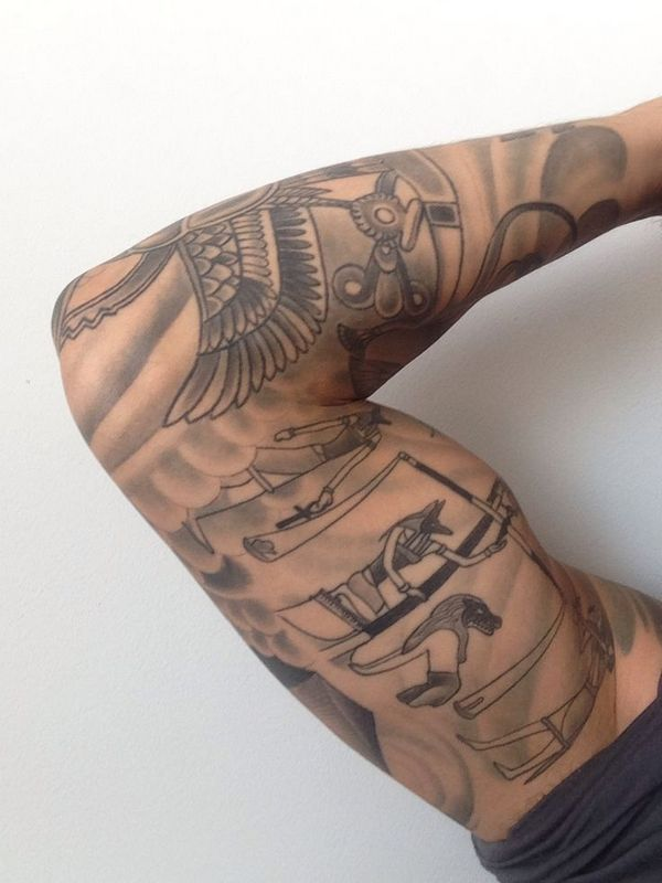 40 Awesome Egyptian Tattoos Ideas That Will Blow Your Mind
