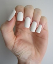 cool matte nail art design