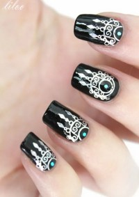 25+ Inspirational Nail Art Inspired by Native American ...