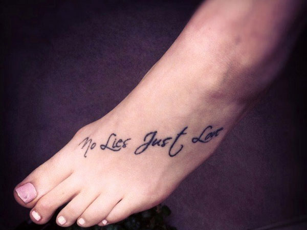 40 Unique Tattoo Font Ideas For Girls That Ink Up Your