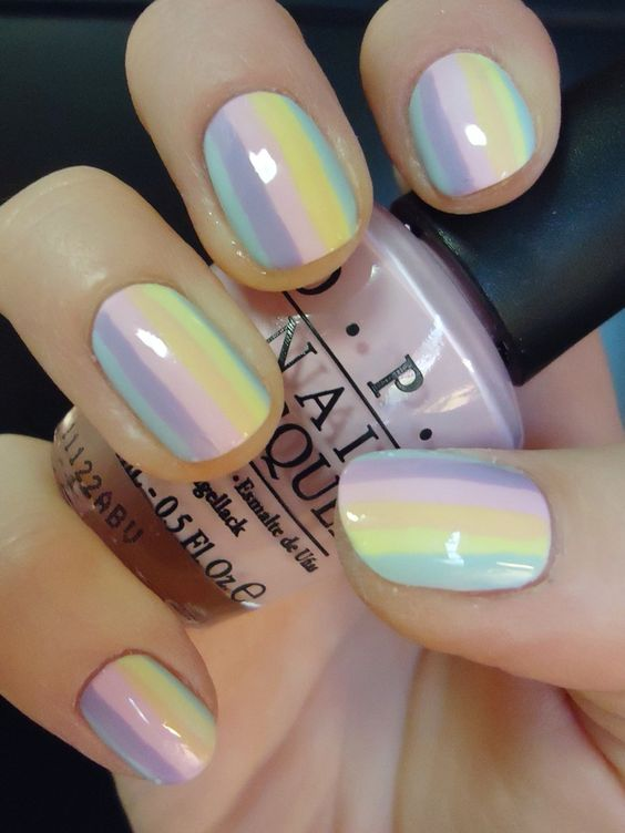 50 Cool Colorful Rainbow Nail Designs You Won T Miss